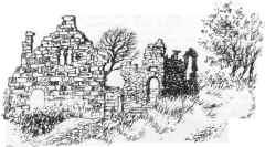 Hunton Manor Ruins