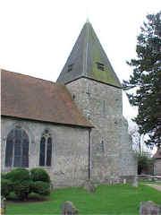 Hunton Church. March 2000