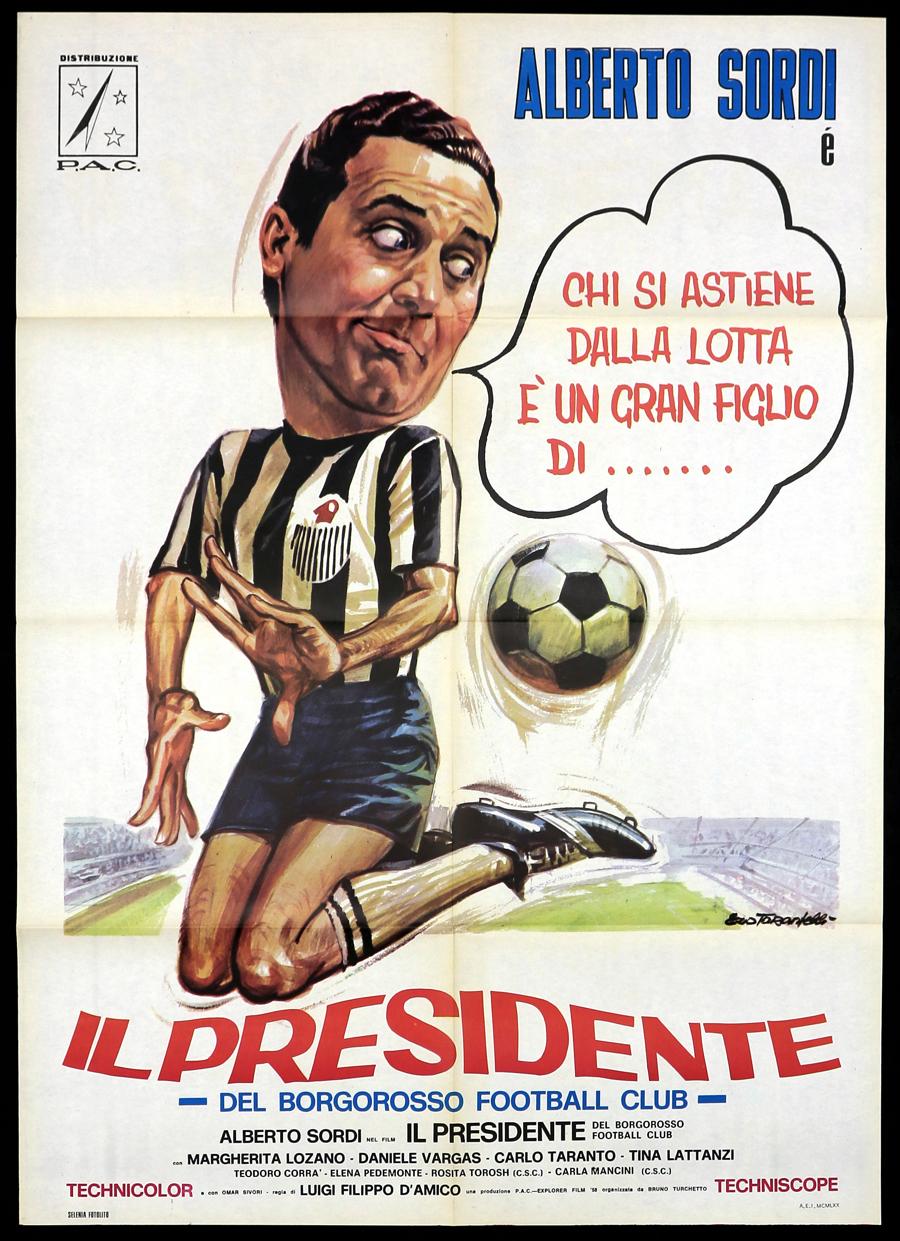 Risultati immagini per il presidente del borgorosso football club