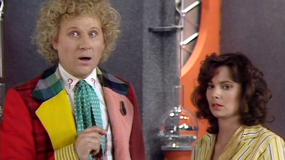 Doctor who Peri The Trial of a Time Lord