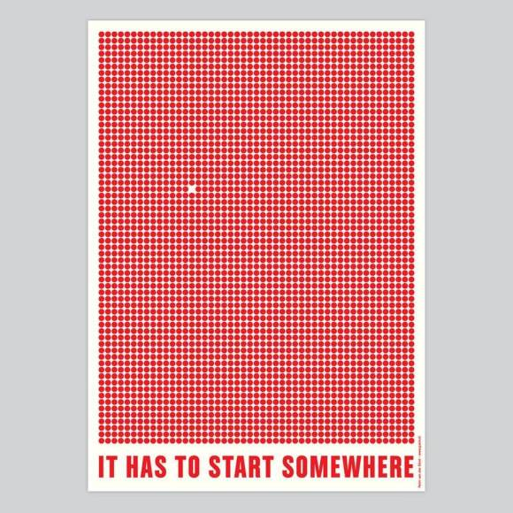 It has to start somewhere - Peim van der Sloot