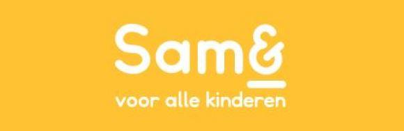 Logo van Stichting Sam& voor alle kinderen
