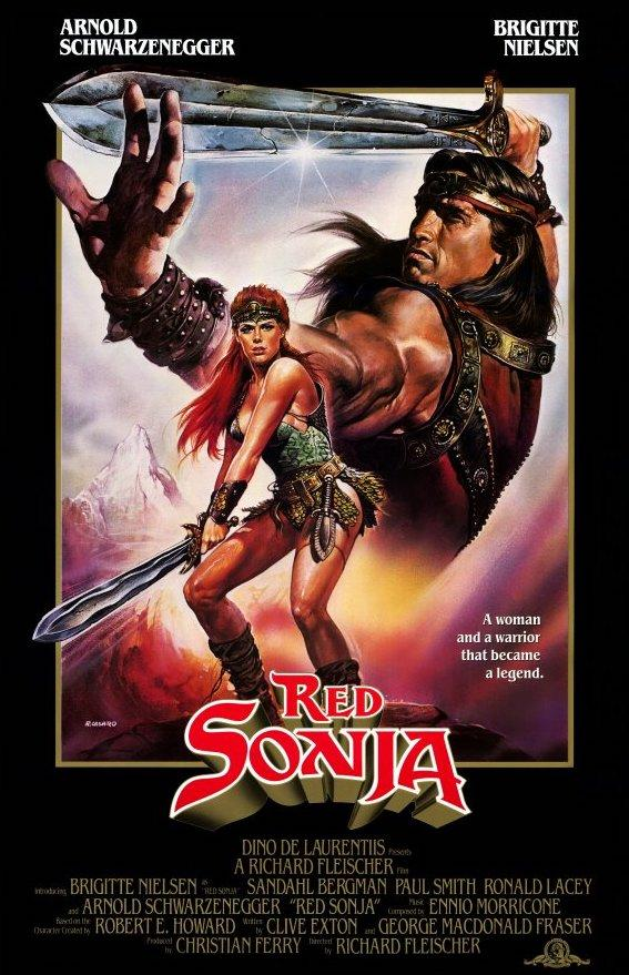 Red Sonja (1985) movie poster