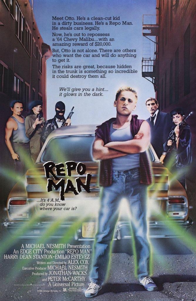 Repo Man Poster