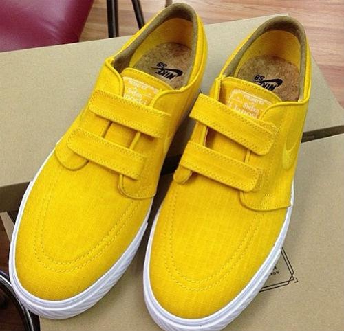 Nike SB Stefan Janoski Velcro Yellow Rip-Stop