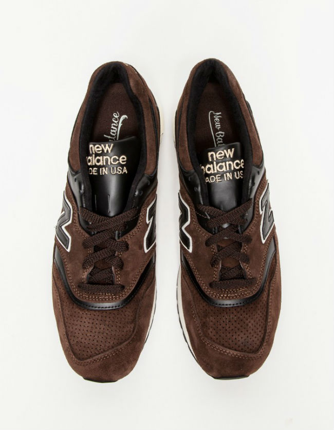 New Balance Distinct Authors 997 Brown | Cult Edge