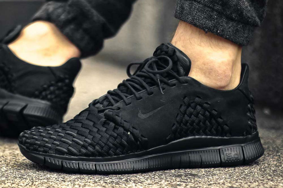 finest selection bac20 7f6f6 Nike Free Inneva Woven 2 Triple Black