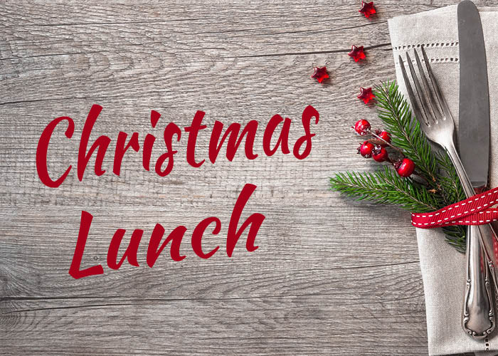Christmas Lunch – 9th December