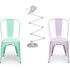 Orange Stackable Chairs Old School Pretty Pastels   Cult Furniture Blogcult Blog