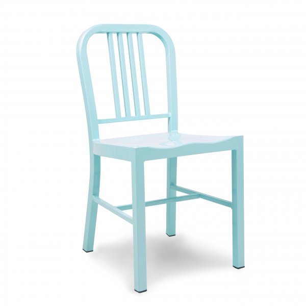 Light Blue Steel Dining Chair  Cult UK