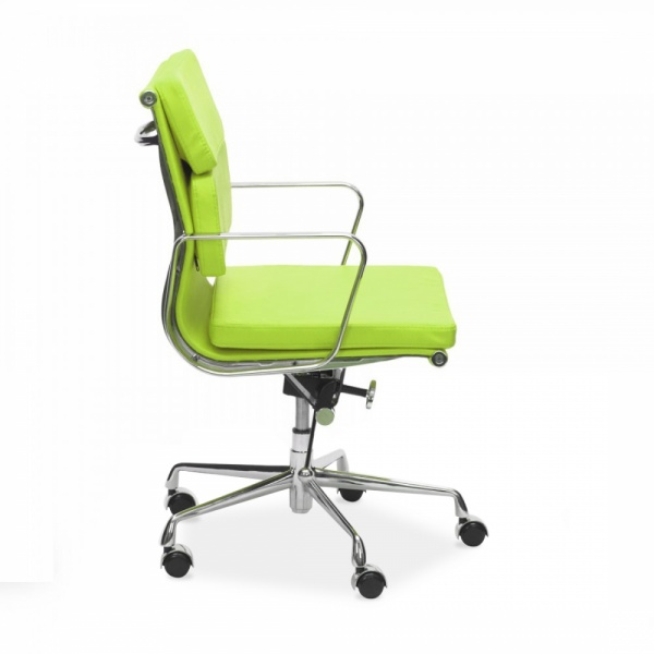 Cult Living Lime Green Short Back Soft Pad Executive Chair