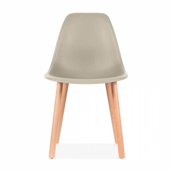 Eames Inspired Beige Copenhagen Modern Dining Chair