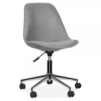 Eames Inspired Upholstered Office Chair With Castors