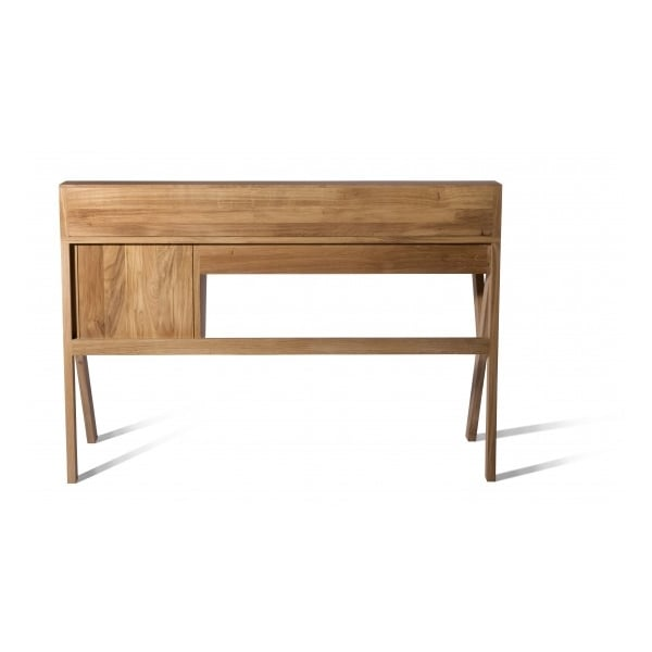 Mr Marius Origami Desk In Black With 5 Drawers Cult