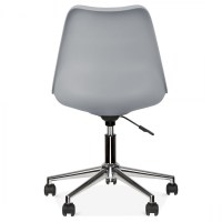 Eames Inspired Office Chair With Castors Cool Grey | Cult UK