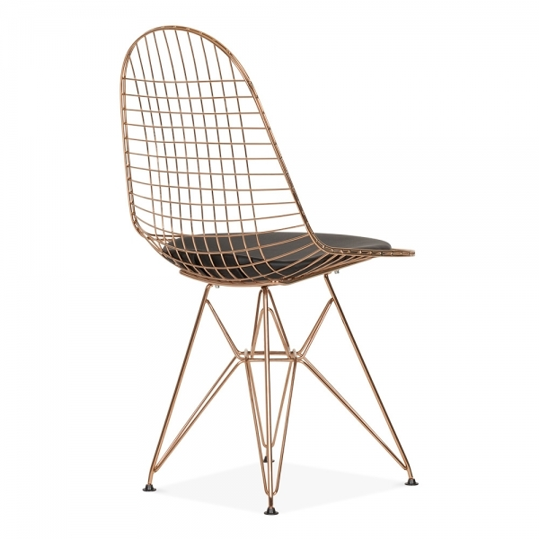 Eames Copper DKR Wire Chair  Cafe  Dining Chairs  Cult