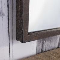 Brompton Window Style Industrial Metal Mirror Rustic ...