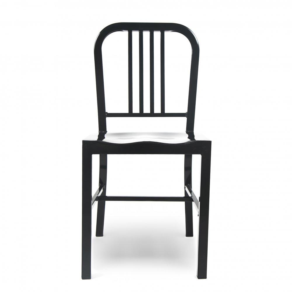 Black Metal Dining Chair