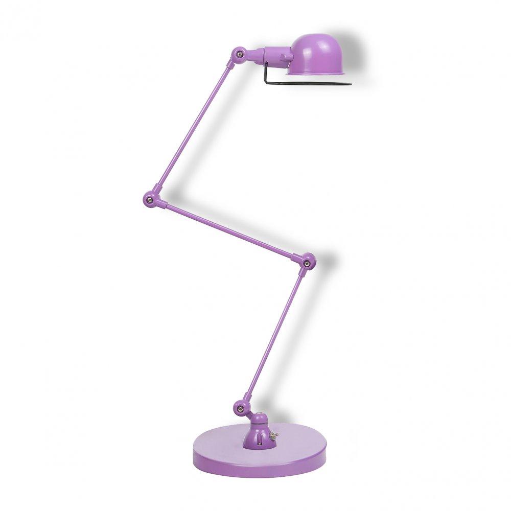 Jielde Style Purple Desk Lamp  Modern Table Lamps  Cult