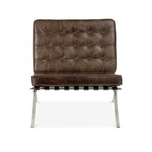 Style Vintage Brown Barcelona Chair Cult Uk
