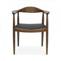 Hans J Wegner Style Designed Round Chair | Cult UK