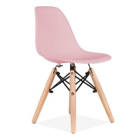 Cult Living DSW Kids Pastel Pink Chair | Dining Chairs ...