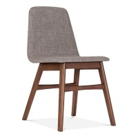 Cult Living Amara Upholstered Dining Chair in Cool Grey ...