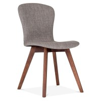 Cult Living Hudson Upholstered Dining Chair in Cool Grey ...