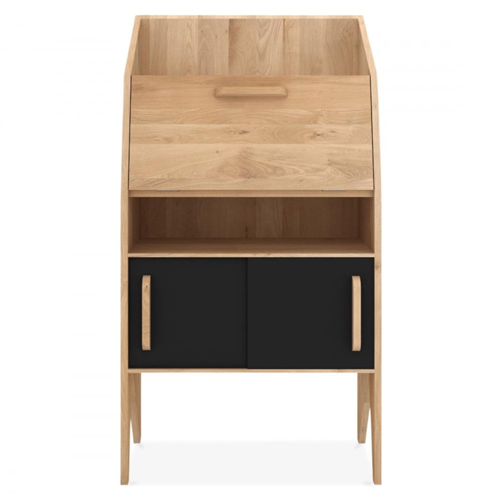 Mr Marius Origami Desk With 2 Sliding Doors And 2 Drawers