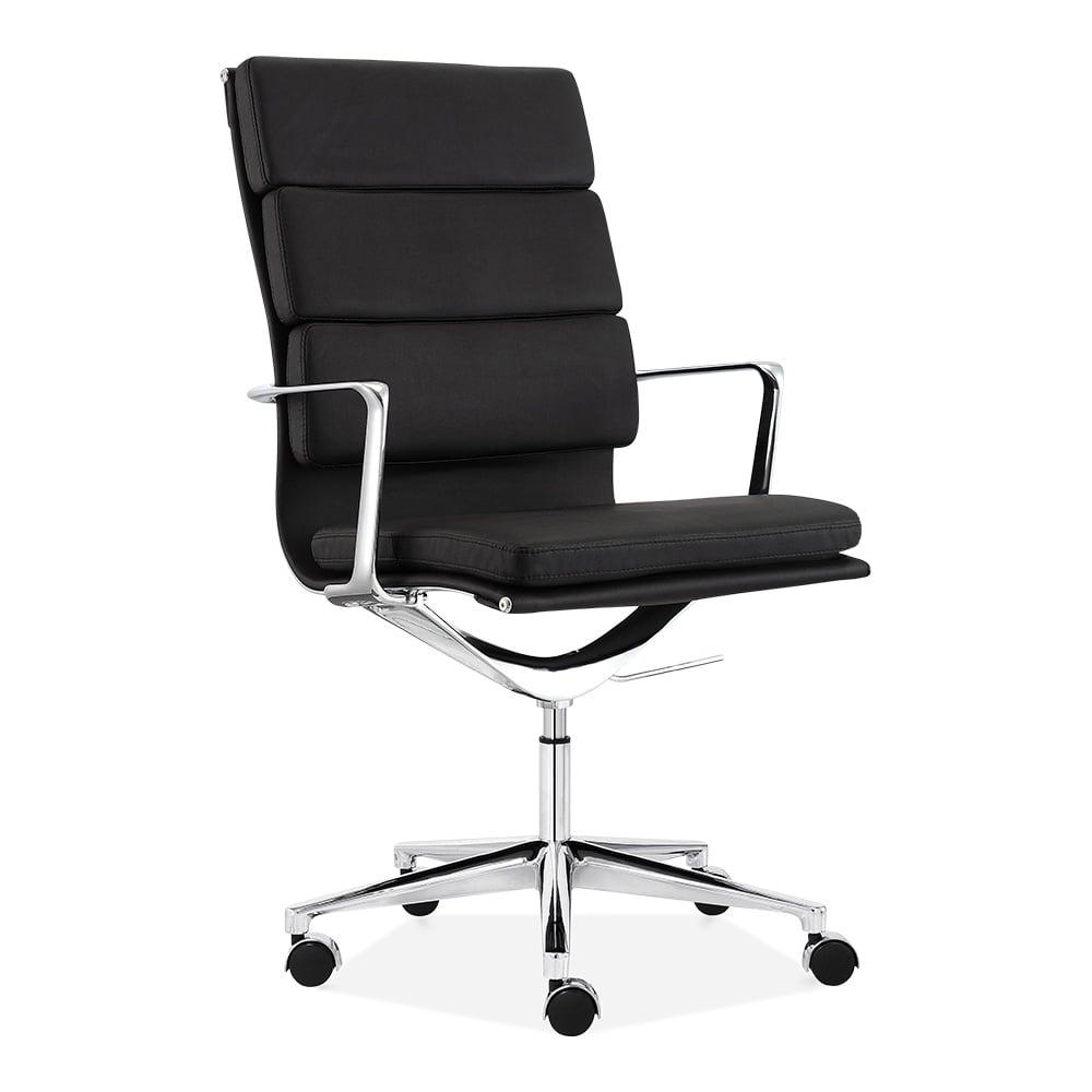 Cult Living Black High Back Soft Pad Office Chair  Cult UK