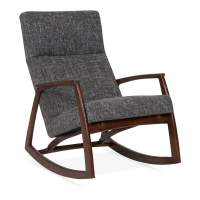 Cult Living Stanley Rocking Chair in Grey