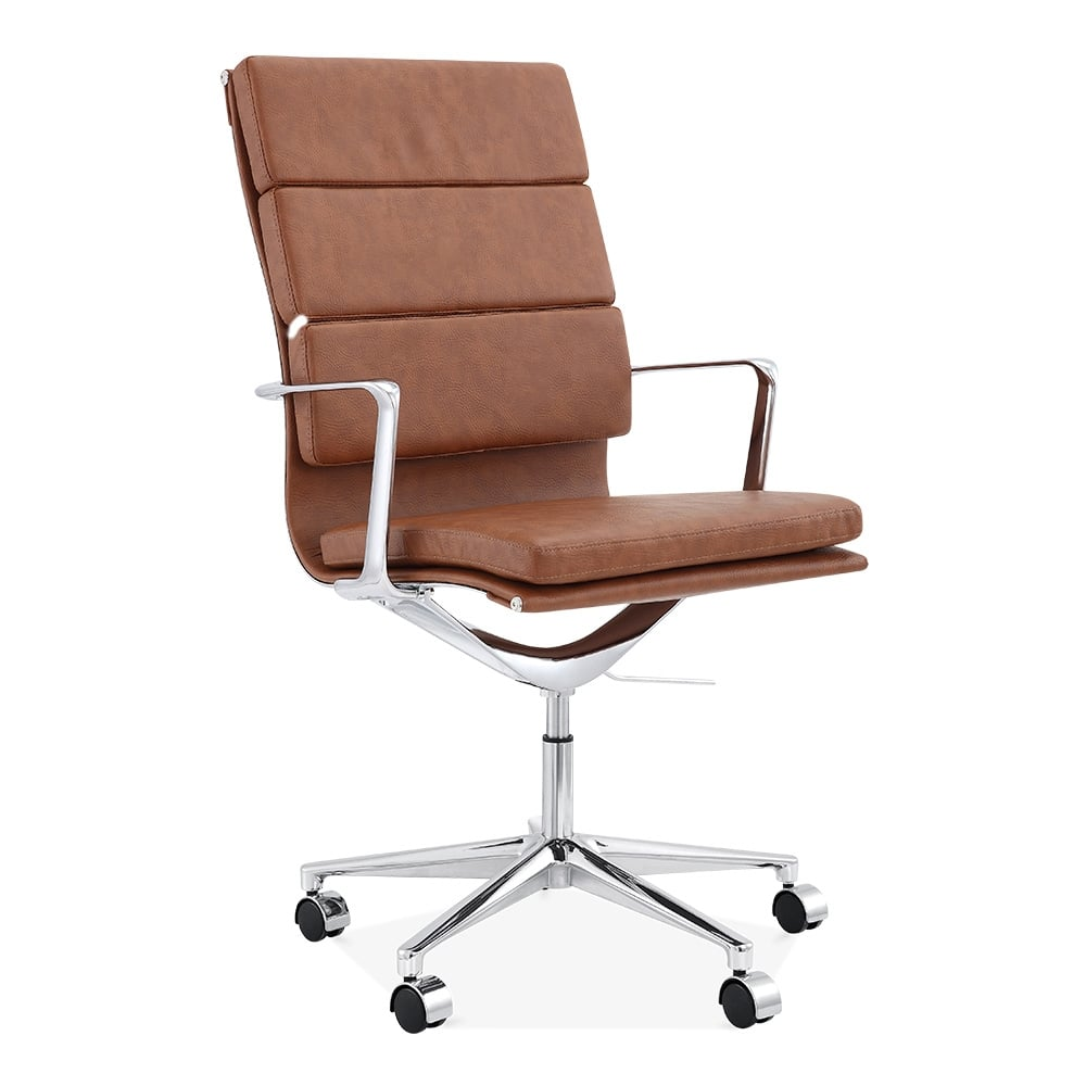 Cult Living Coffee High Back Soft Pad Office Chair  Cult UK