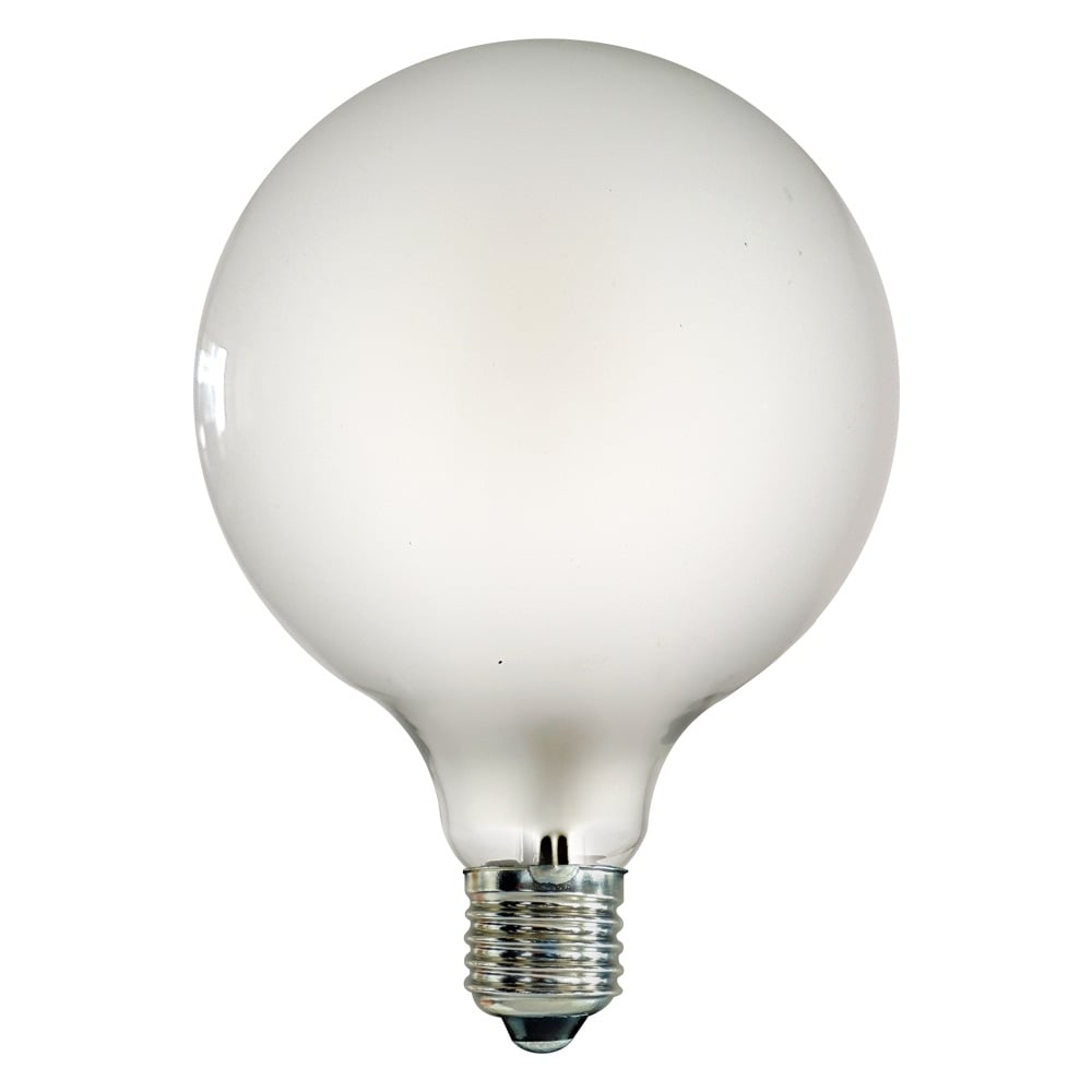 G125 E27 Large Globe LED 4W Frosted Light Bulb