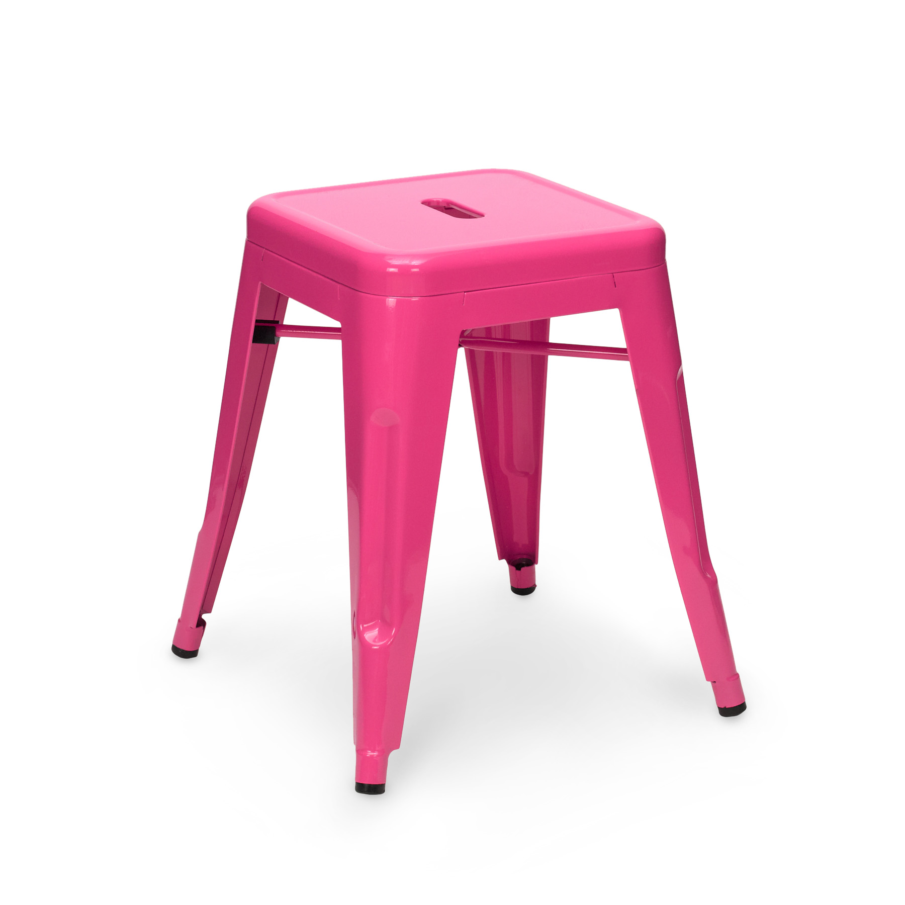 pink stool chair gaming office depot tolix 45cm
