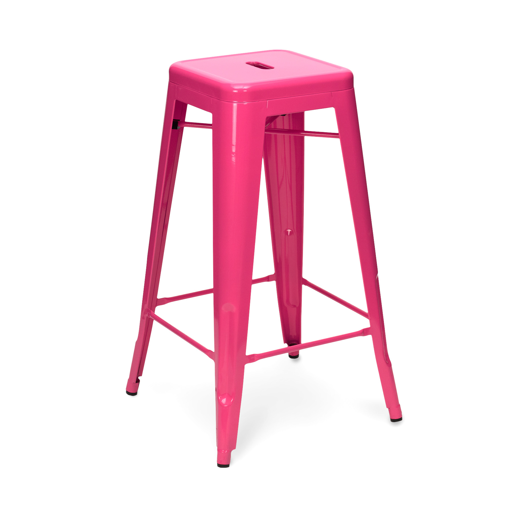 pink stool chair little girls table and chairs tolix 65cm 75cm