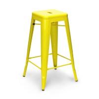 Yellow Tolix Stool (65cm/75cm)