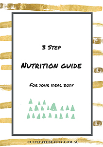 3 step nutrition guide paleo