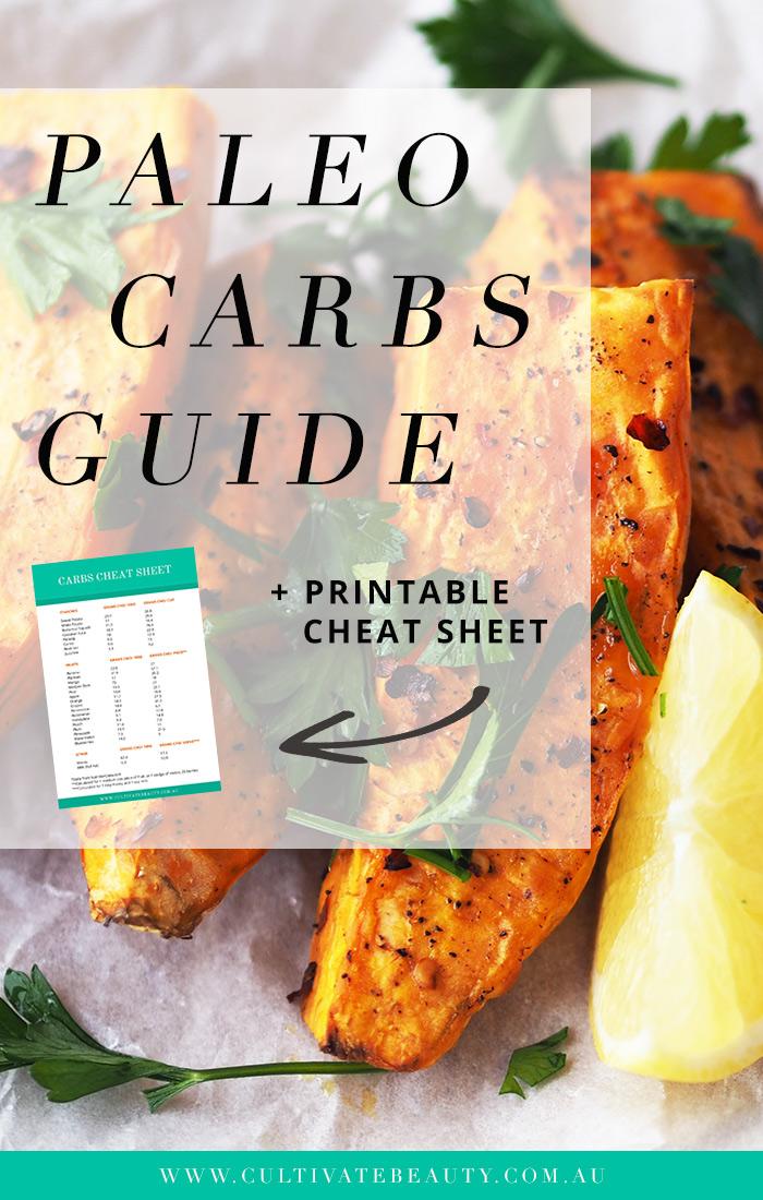 Paleo Carbs List Grain Free Gluten Free Cultivate Beauty