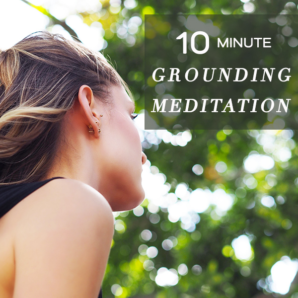 guided meditation grounding