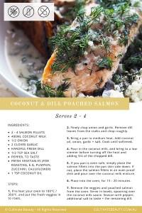 poached salmon paleo