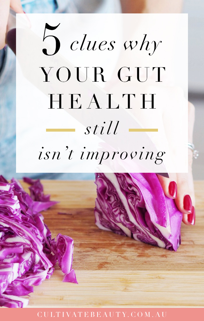 why gut health isn't getting better
