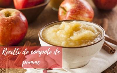 Comment faire de la compote de pomme maison ?