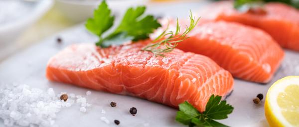 Filet de saumon cru bio