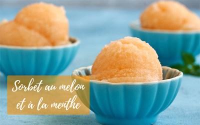 Recette de sorbet au melon et à la menthe