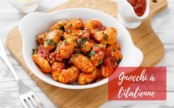 recette de gnocchi à l'italienne