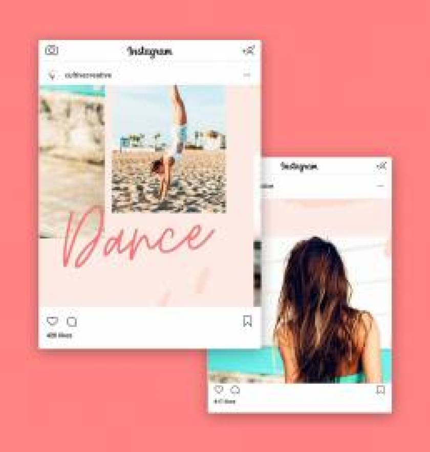 Cali Instagram Collage Template