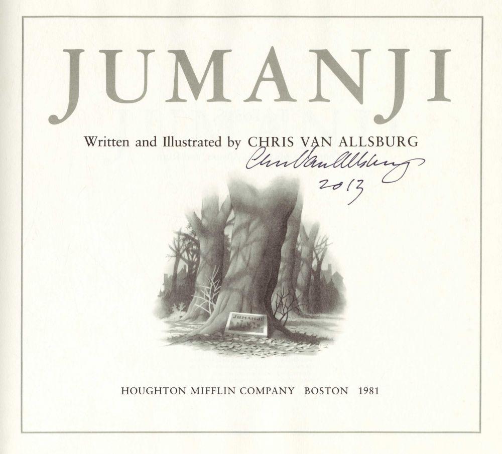 Chris Van Allsburg, Jumanji