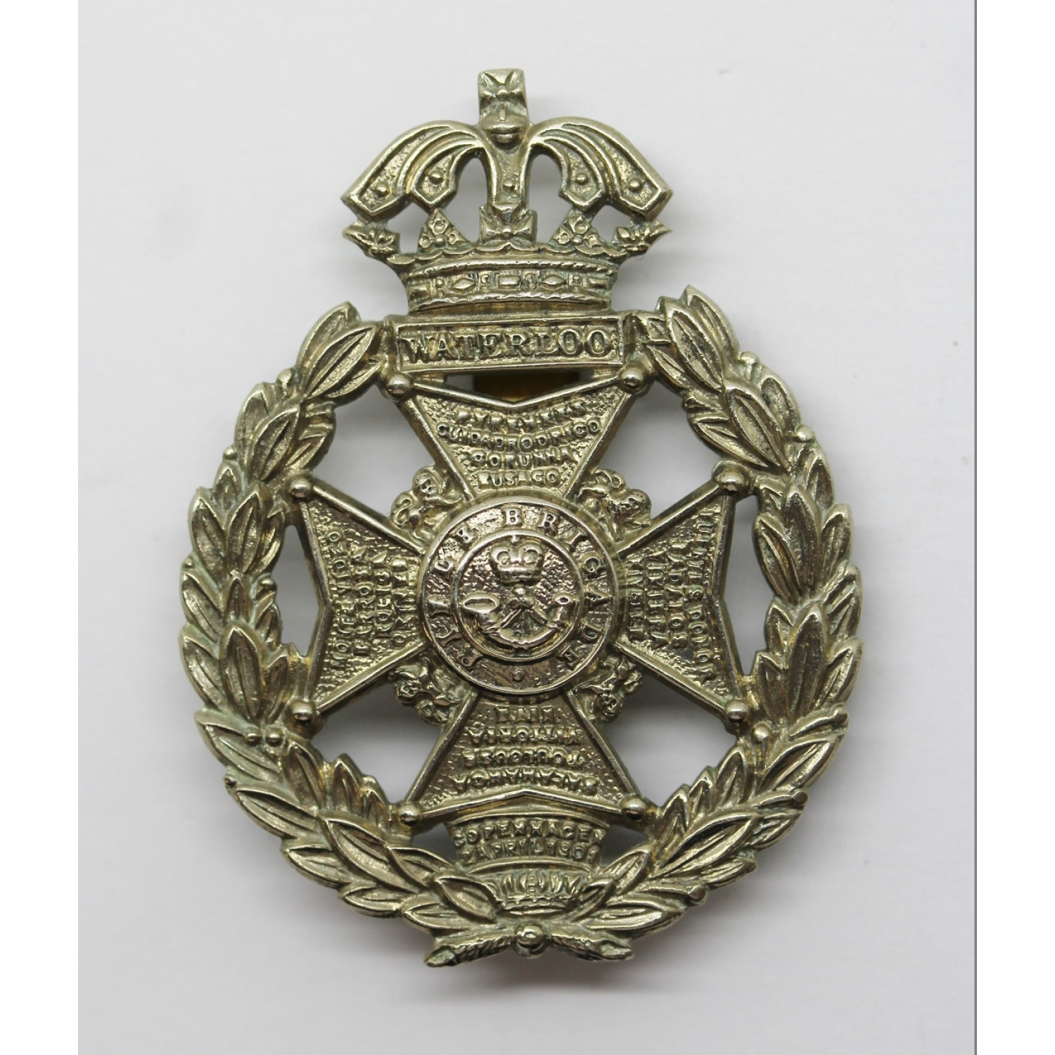 Rifle Brigade Cap Badge 58 Last Pattern