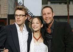 Kreuk and boyfriend on left attended NXIVM