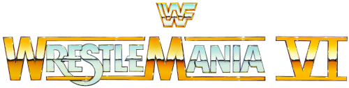 Image result for wrestlemania 6 logo